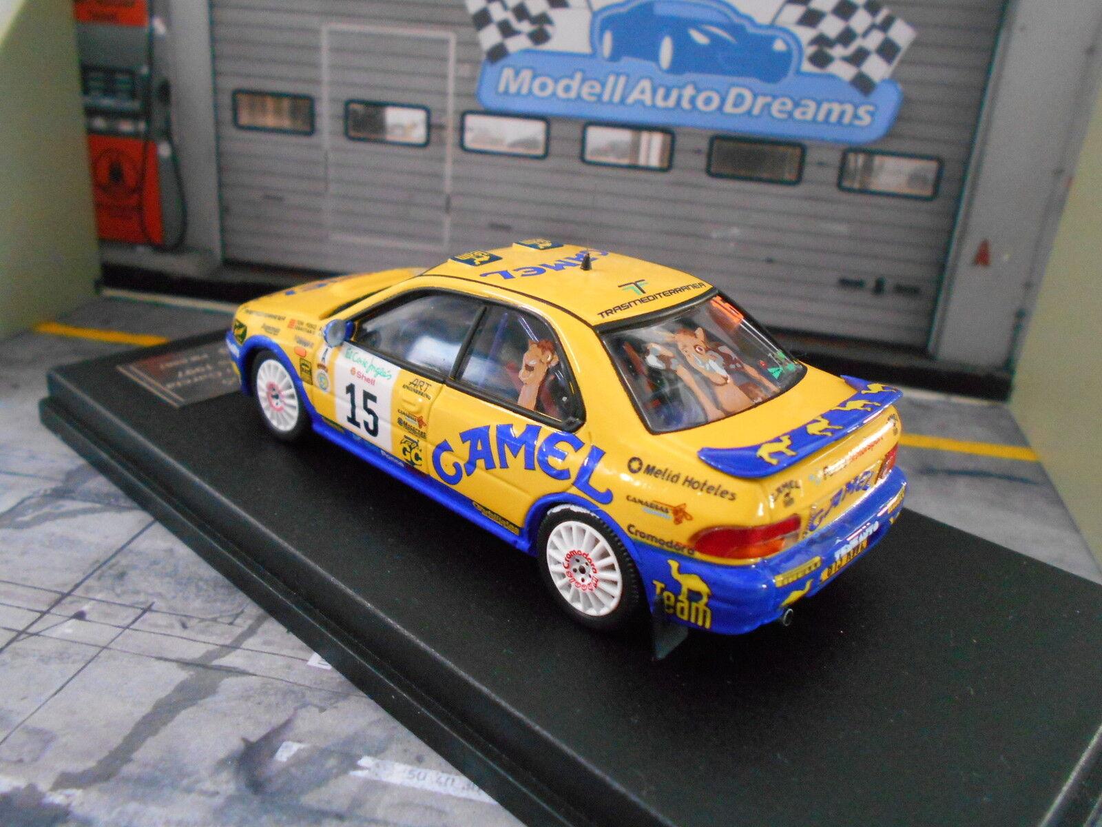 SUBARU Impreza WRC Rallye Corte Ingles 1997 1997 1997  15 Ponce Camel Trofeu 1 250 1 43 30b681