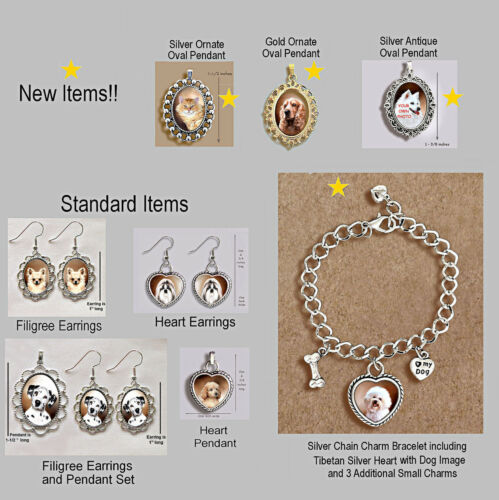 JACK RUSSELL TERRIER DOG Wire Fawn ORNATE GOLD PENDANT NECKLACE
