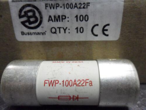 New Bussmann FWP-100A22F 100 Amp Semiconductor Fuse 700VAC