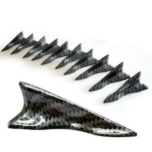 10PCS-New-Shark-Fin-Diffuser-Vortex-Generator-Car-Wing-Roof-Spoiler-Bump-FZK