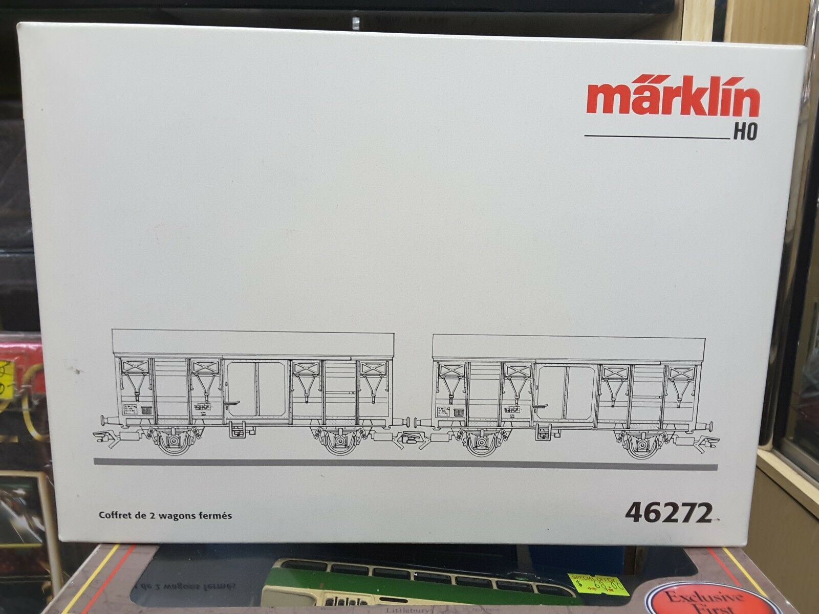 Marklin HO AC Coffret De 2 Wagen Fermes