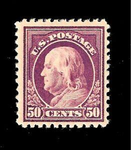 US-1917-Sc-517-50-c-Benjamin-Franklin-Mint-VLH-Crisp-Color-Centered-Gem