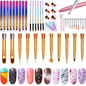 Gradient-Handle-Nail-Art-UV-Gel-Liner-Brush-Flower-Painting-Pen-Set