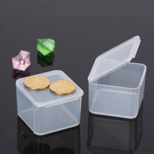 New Small Travel Clear CG Transparent Storage Box Case PU Superhard Plastic Best