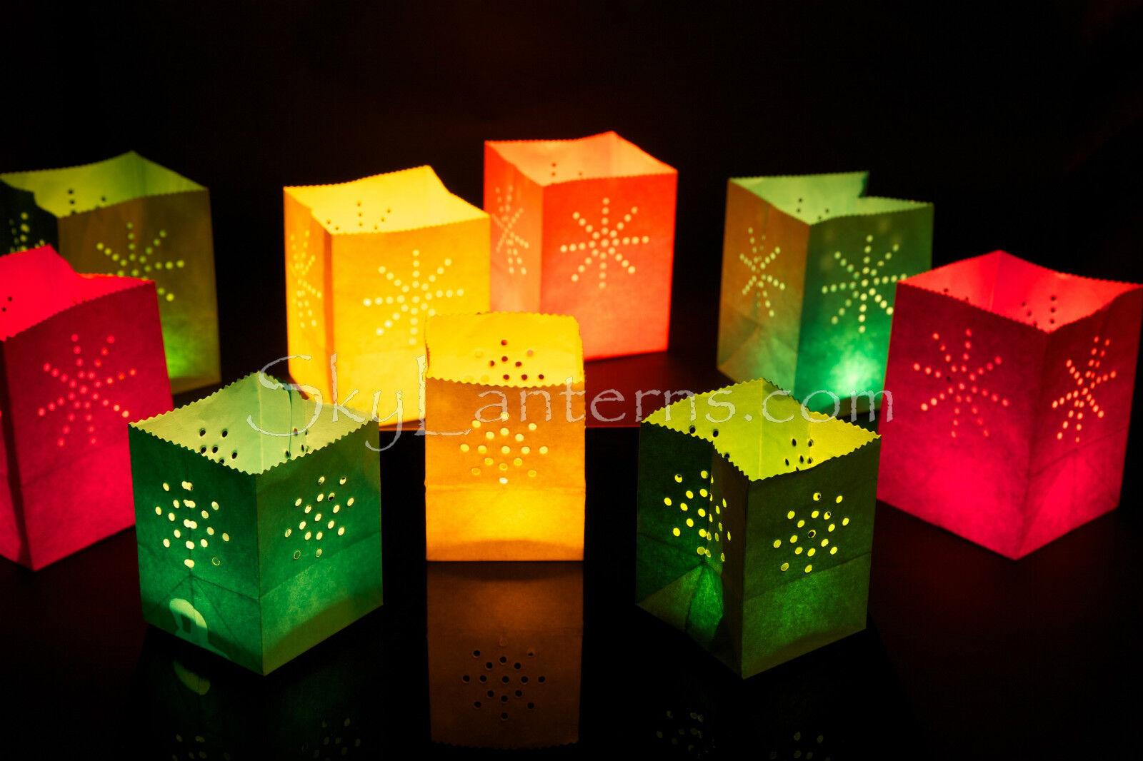 Candle Bags - 24 Mini Surtidos De Colors Candle Bags - 2 Paquetes De 12