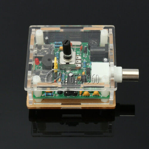 DIY 9-13.8V S-PIXIE CW QRP Shortwave Radio Transceiver 7.023Mhz Kit With Case