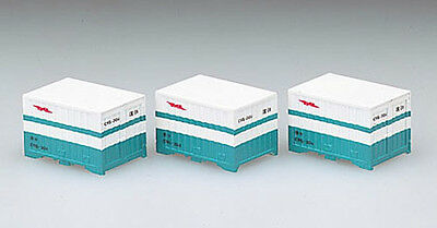 3 pieces Tomix 3131 Type U20A 12/' Containers N scale