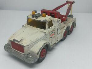 MATCHBOX-King-Size-No-K-2-Scammel-Heavy-Wreck-Truck-Esso-labels