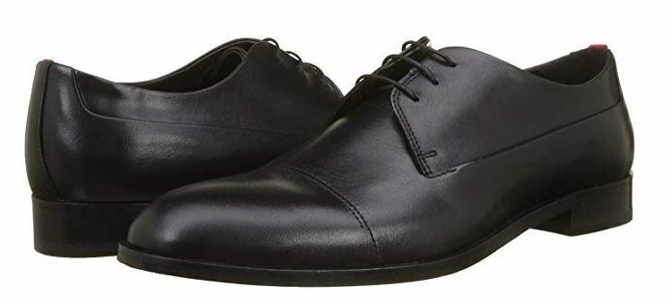 Hugo Boss Smart Derby zapatos talla 10.5UK (44.5EU) - hecho en Portugal