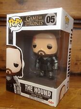 FUNKO POP! Game Of Thrones THE HOUND #05 Vinyl Figure Retired/Vaulted RARE *NEW*