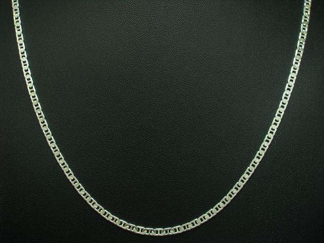 925 STERLING silver PANZERKETTE   ECHTsilver   50,4 cm   8,7 g