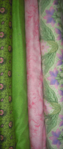 4 YDS Quilt Memory Gardens /& Seasonal Fabric Set Free Spirit Meadow Song Sew