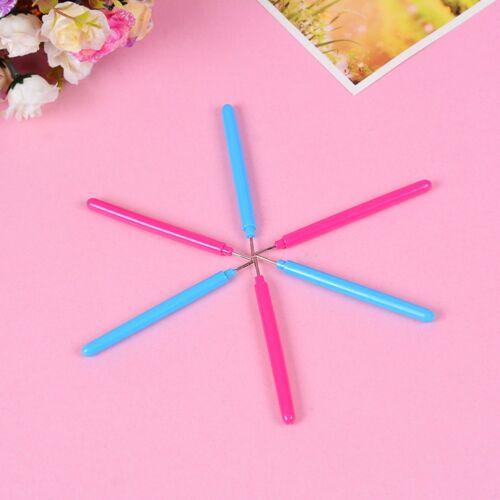 2pcs Papier Set Quilling Papier Werkzeuge Pinzette Nadel Pins Slotted Pen e G5E4