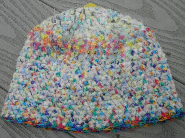 Adorable Pastel Colors Infant/Toddler Beanie 6-24 Months - Handmade by Michaela