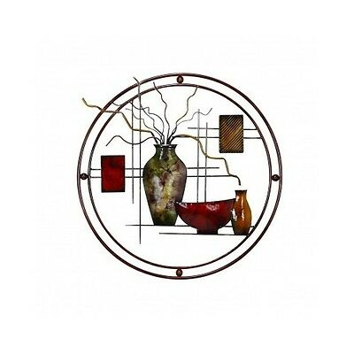 Modern Hanging Metal Wall Sculpture Decor Art Classic Fashion Decoration Home NE