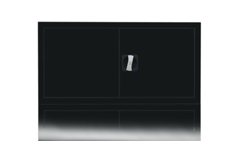 Aktenschrank Büroschrank Stahl Aufsatzschrank Büro Lagerschrank  531129