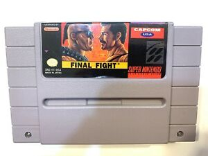 Final-Fight-Super-Nintendo-SNES-Game-Tested-Working-amp-Authentic