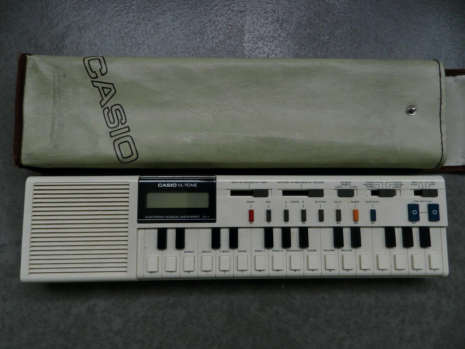 Vintage Casio VL Ton vl-1 Mini Polyphon Tastatur 1981