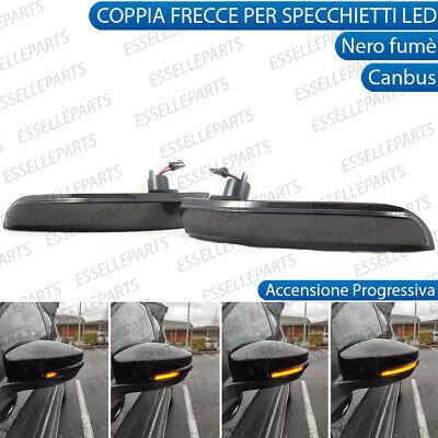 Indicatore di direzione dinamico a LED con luce ad accensione progressiva e guscio trasparente per specchietto retrovisore