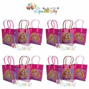 12pc princess rapunzel tangled goody bags party favor bags gift loot