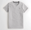Hollister-homme-a-encolure-ras-du-cou-a-manches-courtes-Muscle-must-have-Courbe-Tee-Logo-T-Shirt miniature 18