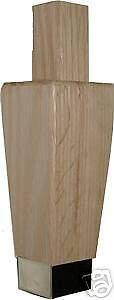 FURNITURE SOLID OAK HOOSIER LEG W31581N