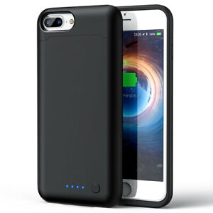 Details about External Battery Charger Case Shockproof Power Bank Case For Apple iPhone 7 Plus