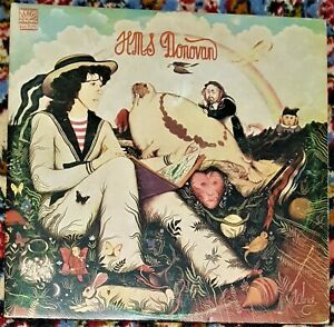 Donovan HMS Double LP Gatefold SIGNED 1971 Dawn DNLD 4001 RARE