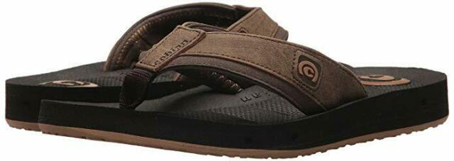 9018431e07e Men Cobian Draino Flip Flop Sandal DRA17-201 Chocolate 100% Authentic Brand  New