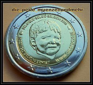 2-Euro-Gedenkmuenze-Belgien-2016-Child-Focus-Neu-RAR