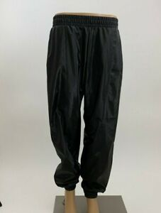 Victoria's Secret Sport GYM RED BLACK Shiny Cargo Jogger Pants Metallic NWT NEW