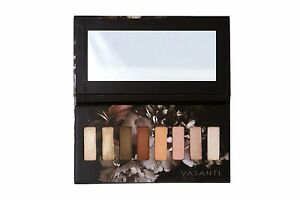 VASANTI Kajal X Kolors Eyeshadow Palette - 8 High Pigmented Eye Color Matte