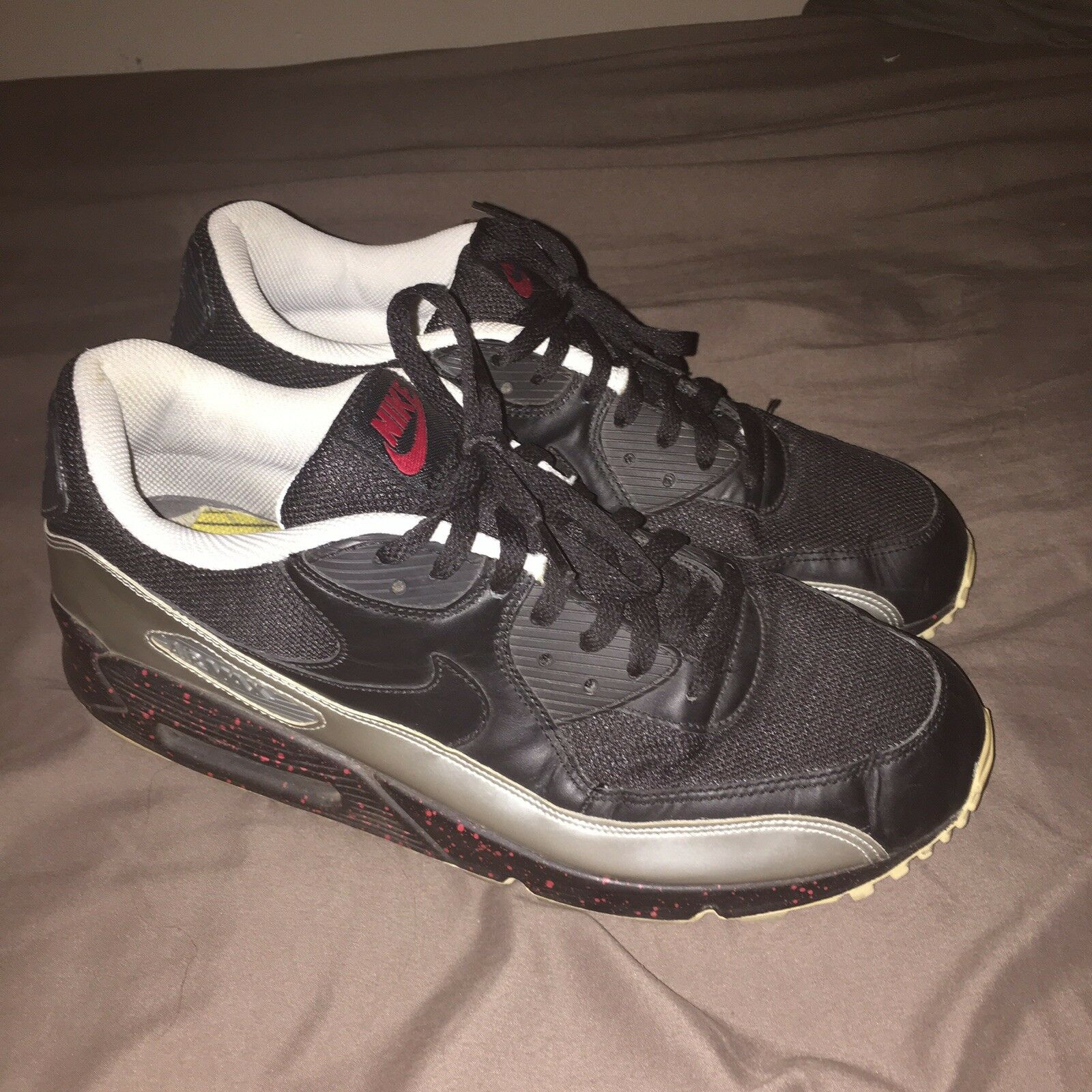 """Nike Air Max 90 Leather """"Euro Champs"""" Champs"""" Champs"""" Size"""