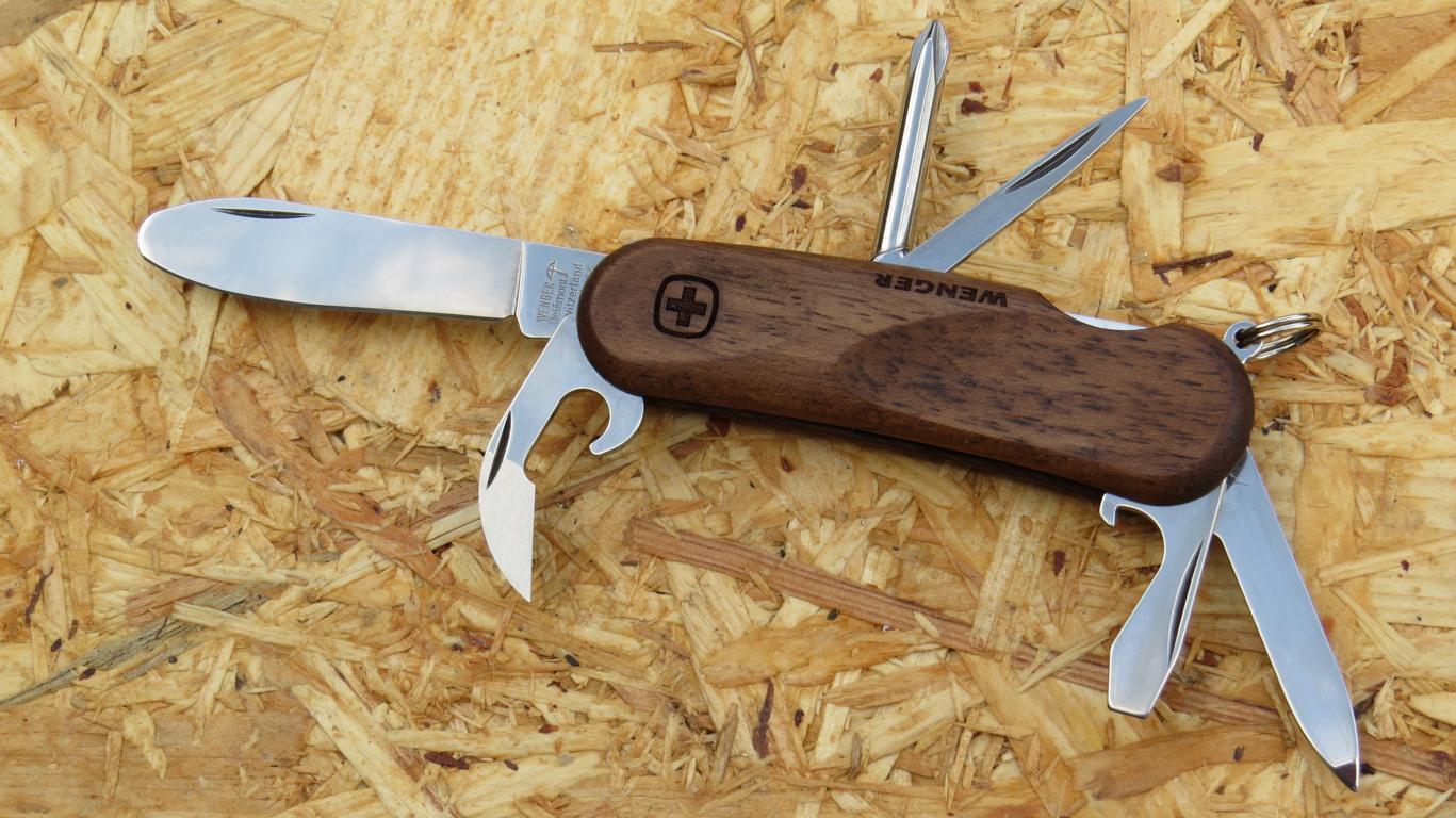 Wenger Kindermesser Taschenmesser JuniorWood 11 Schweizer Messer 15750929