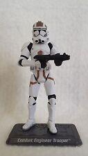 Star Wars Saga Collection COMBAT ENGINEER Clone Trooper action figure TSC #68