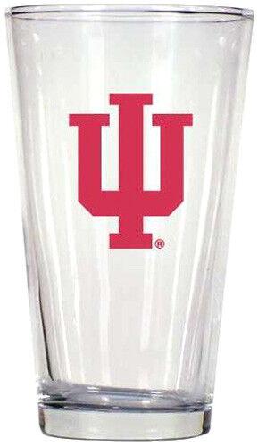 16 oz. INDIANA Collegiate Pint Glass #4019