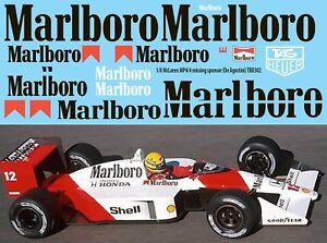 1//43 decal mclaren m29b marlboro f1 Argentina//Brasil 1980 alain prost