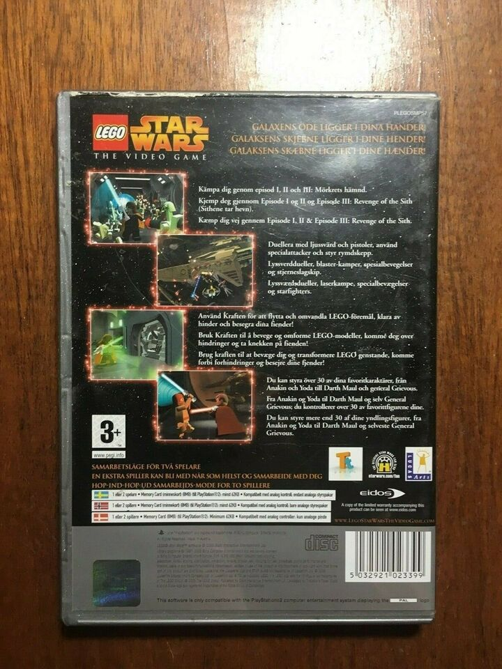LEGO Star Wars The Video Game, PS2, anden genre