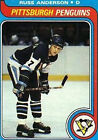 1979 Topps Russ Anderson #264 Hockey Card