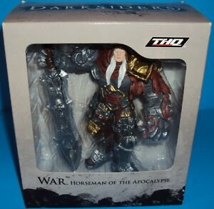 Darksiders War Horseman of the Apocalypse Action Figure & Sword THQ NEW