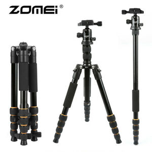 ZOMEI-Aluminum-Tripod-Travel-Monopod-w-Ball-Head-For-DSLR-Camera-Camcorder-Q666
