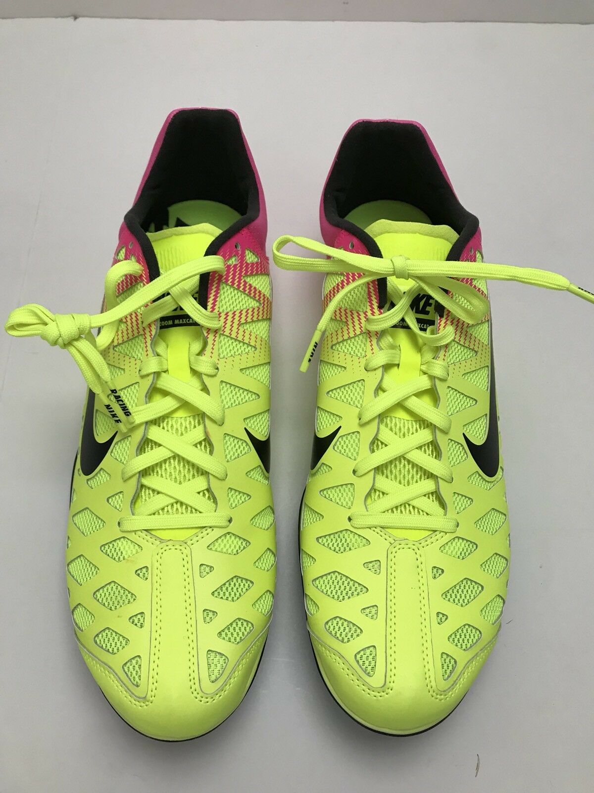 Nike MAXCAT 4 Track Sprint Racing RIO OC 549150 999 MEN 12.5 with Spikes
