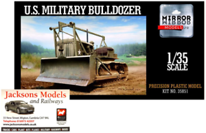 Mirror Models 35851 US Military Caterpillar D7 Tractor Bulldozer 1 35 Scale Kit