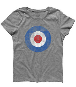 die Pete Townsend vintage T-Shirt TARGET blau MODS VESPA LAMBRETTA die