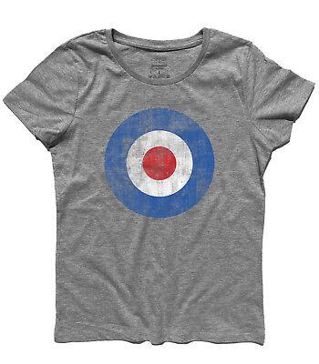 camiseta de mujer OBJETIVO azul MODS VESPA LAMBRETTA el que Pete Townsend | eBay