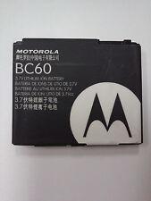 2 NEW MOTOROLA SNN5791A SNN5831 BC60 A1600 U6C K1 KRZR GSM ORIGINAL BATTERY