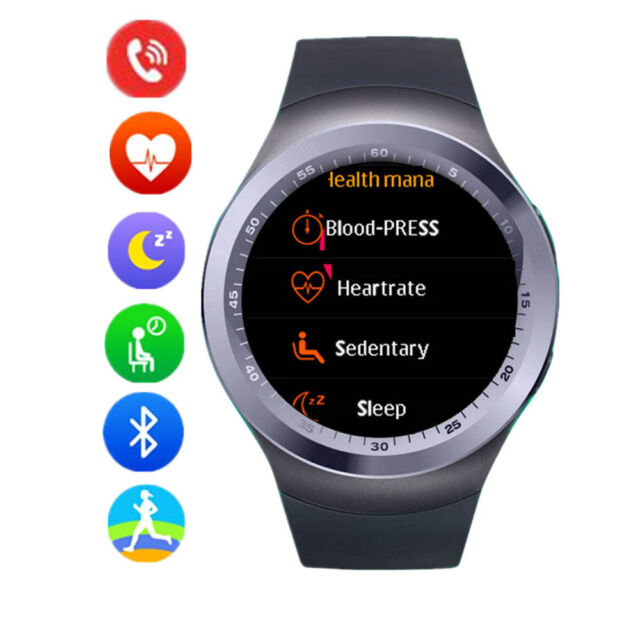 Bluetooth Smart Watch for Android Samsung S9 S8 S7 Edge Huawei Mate 10 LG G6 G5