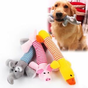 Pet-Puppy-Toys-Chew-Squeaker-Squeaky-Plush-Sound-Pig-Elephant-Duck-For-Dog