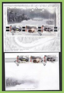Norway-2007-Motor-Sport-Norway-Winter-Rally-set-amp-m-s-First-Day-Covers