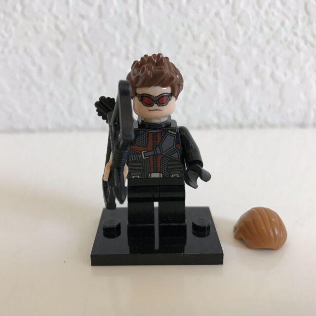 Lego Super Heroes Hawkeye Minifigure  Set 76067 sh302 Mini Fig Rare